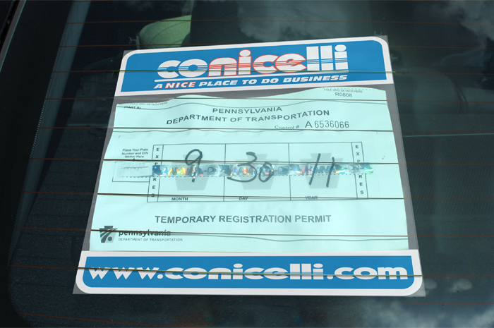 How To Get Temporary Car Registration In California